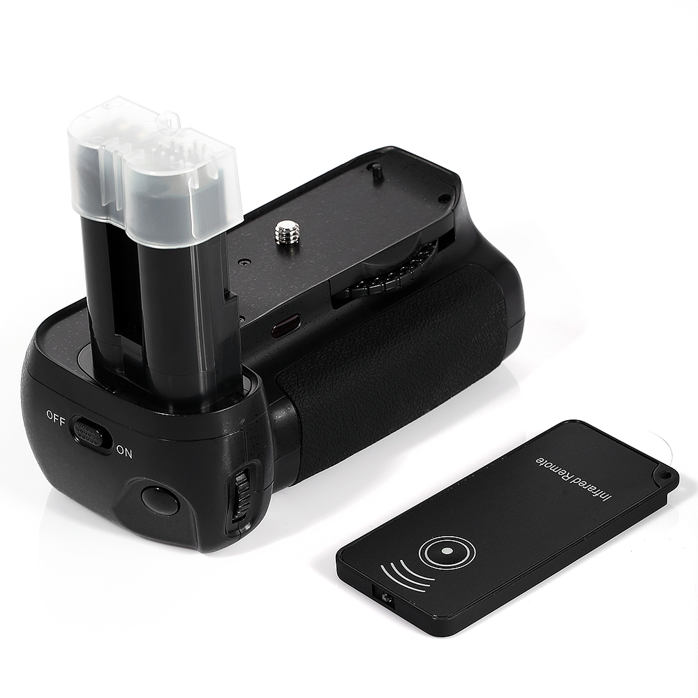 MB-D80 MB-D90 Battery Grip For Nikon D90 D80 + 2x EN-EL3E ...
