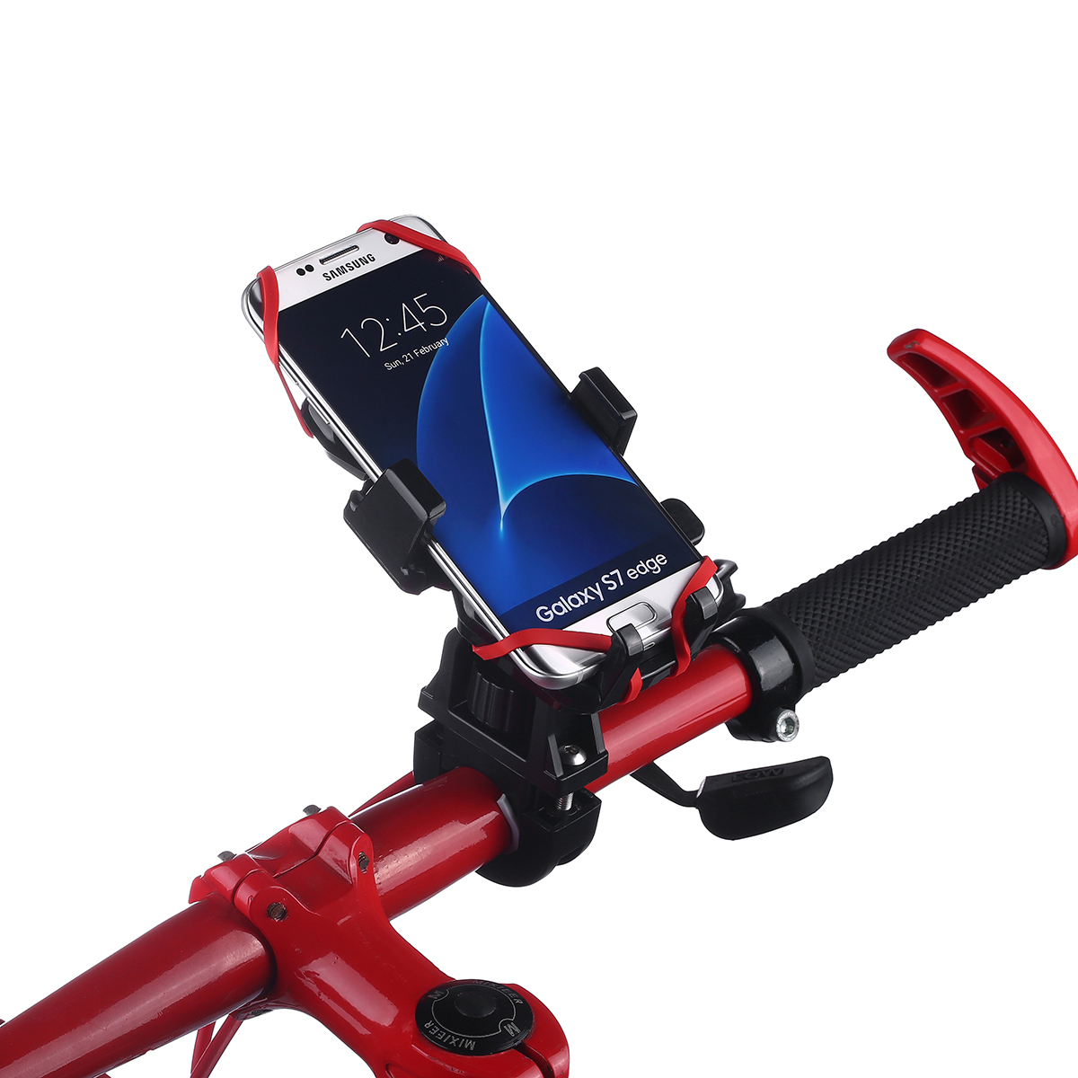 Universal motorcycle bicycle mtb bike handlebar mount for Motor cycle handle bars