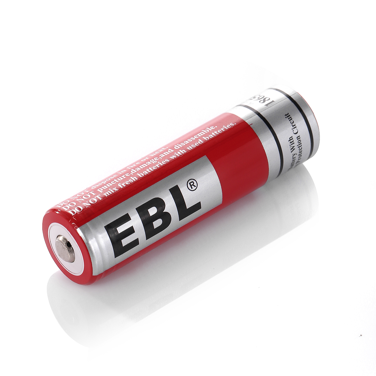EBL (18 PACK) EBL 18650 Lithium ion 3000mAh Rechargeable ...