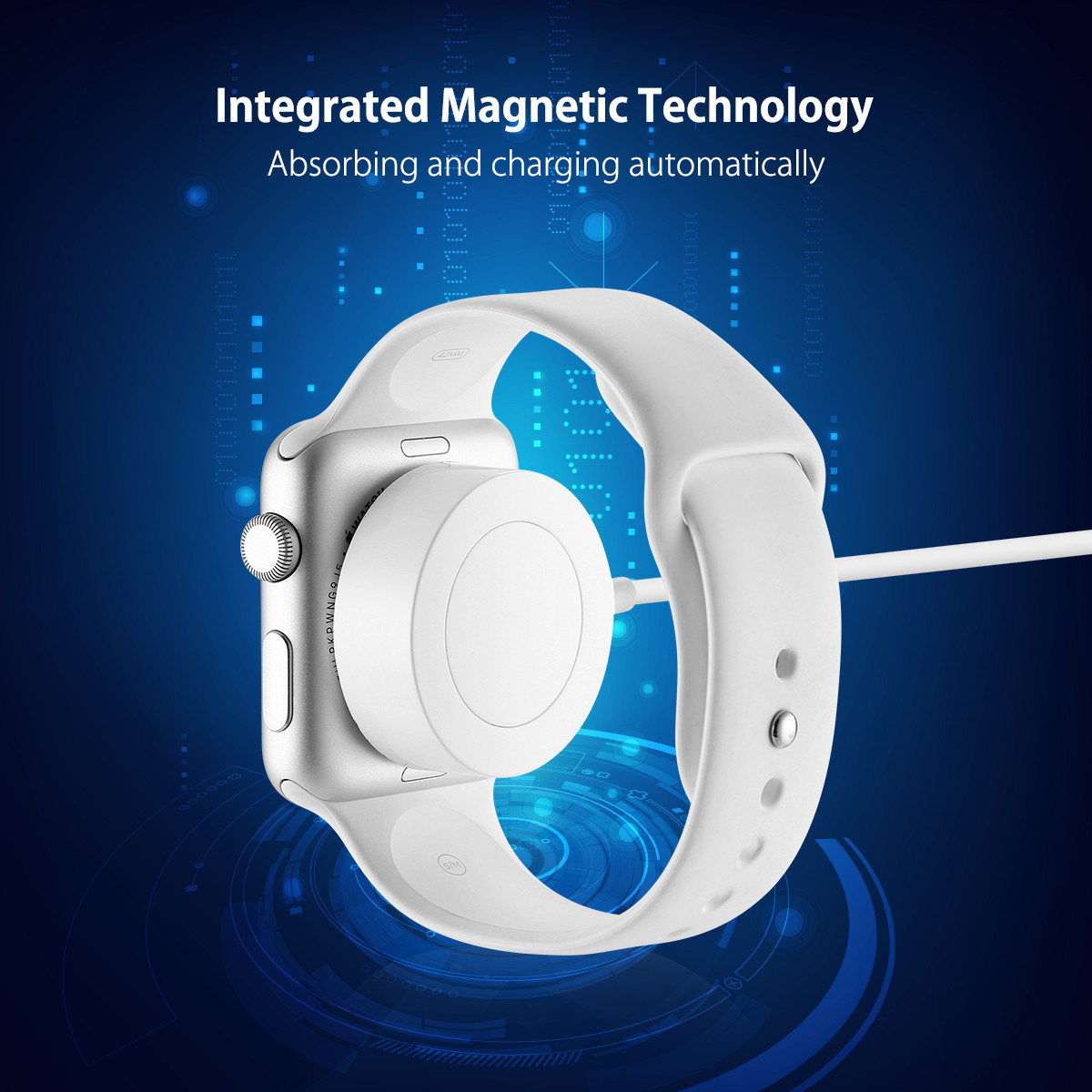 3 3ft Magnetic Charger Charging Cable For Apple Watch