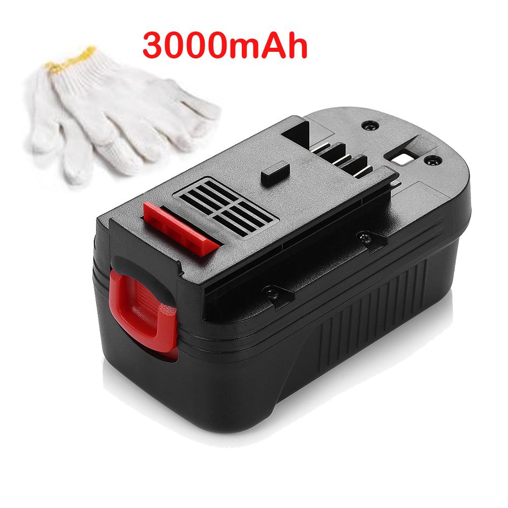 2x 3000mah battery for black decker firestorm 18v 18 volt fs18bx hpb18 fs180bx ebay. Black Bedroom Furniture Sets. Home Design Ideas