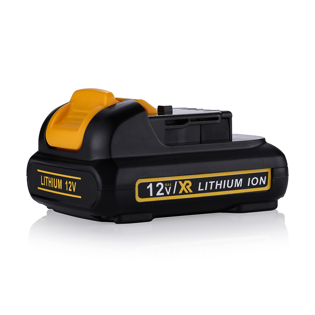 DEWALT DCB120R 2 Pack 12 Volt 12V MAX* Lithium Ion Cordless Battery DCB120-2R   eBay
