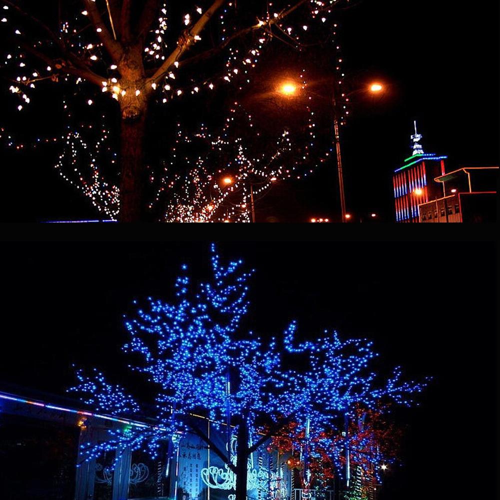 10M 100 LED Lamp Christmas Wedding Xmas Party Decor Outdoor Fairy String Light