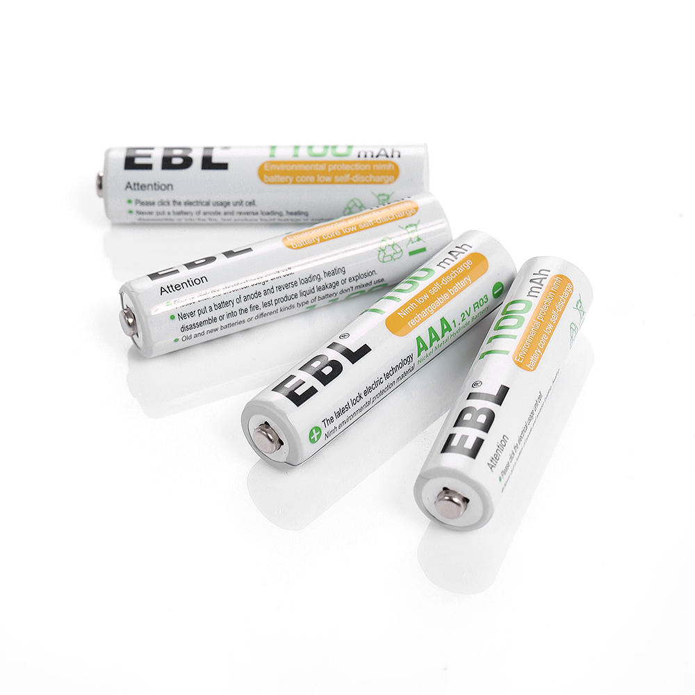4x ebl 1100mah aaa ni mh rechargeable battery univeral aa aaa battery charger ebay. Black Bedroom Furniture Sets. Home Design Ideas