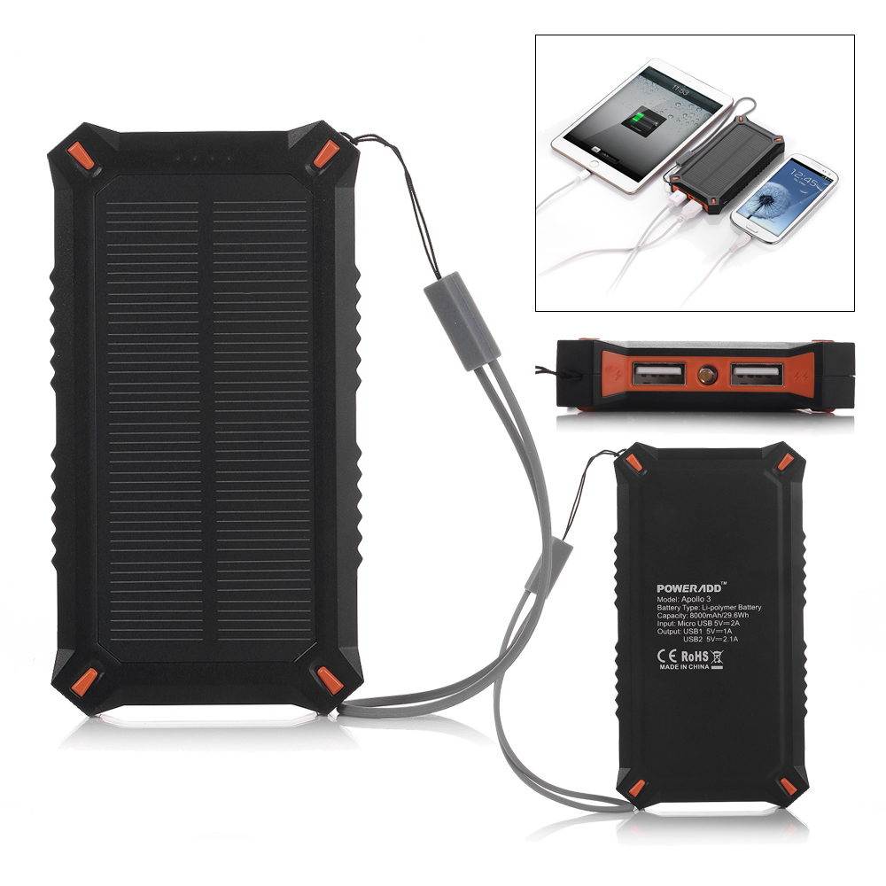 5v 60w portable solar panel battery charger usb power bank pack for pc laptop ebay. Black Bedroom Furniture Sets. Home Design Ideas