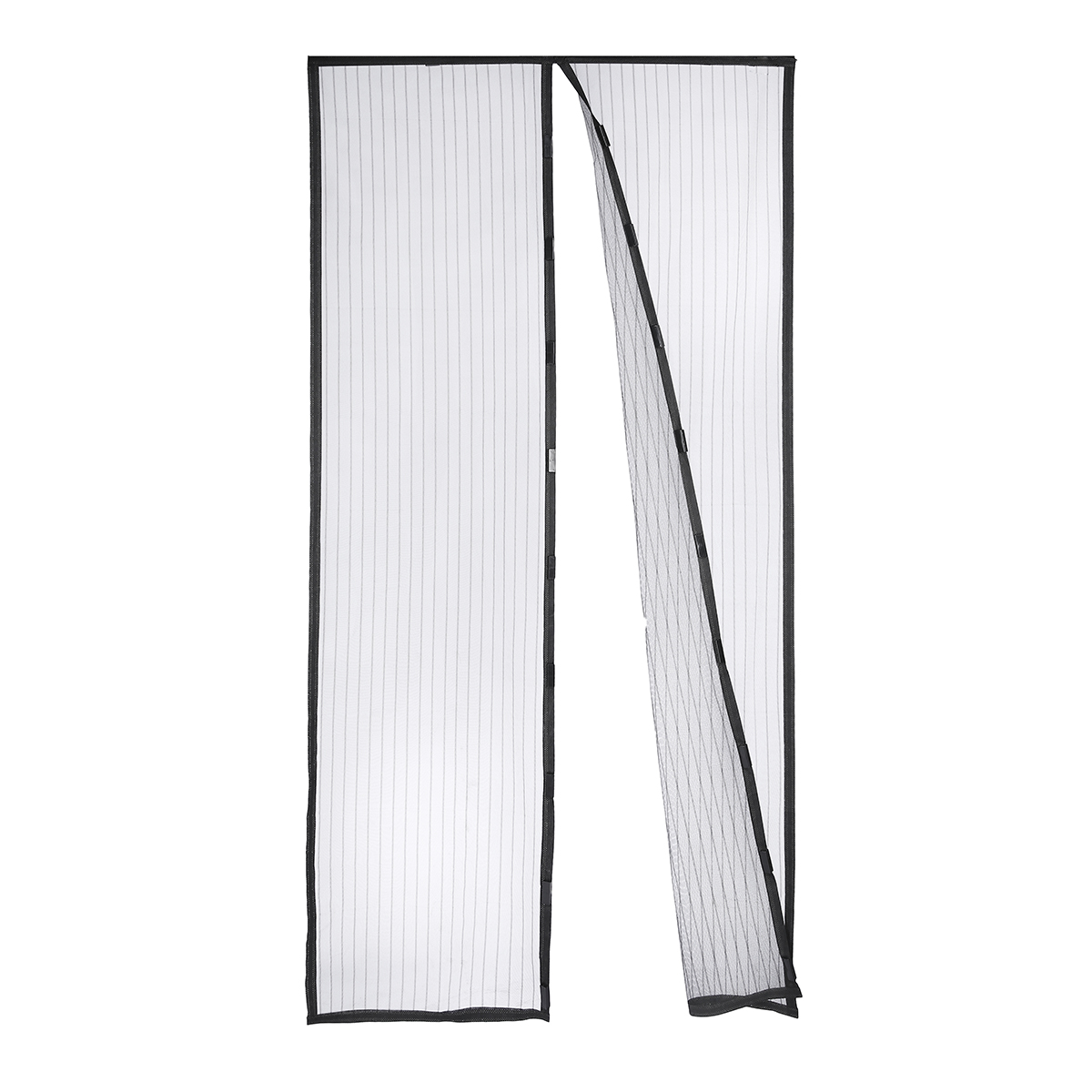 Magnetic Flying Insect Door Window Curtain Mesh Magic Bug Mesh Fly Screen Black Ebay