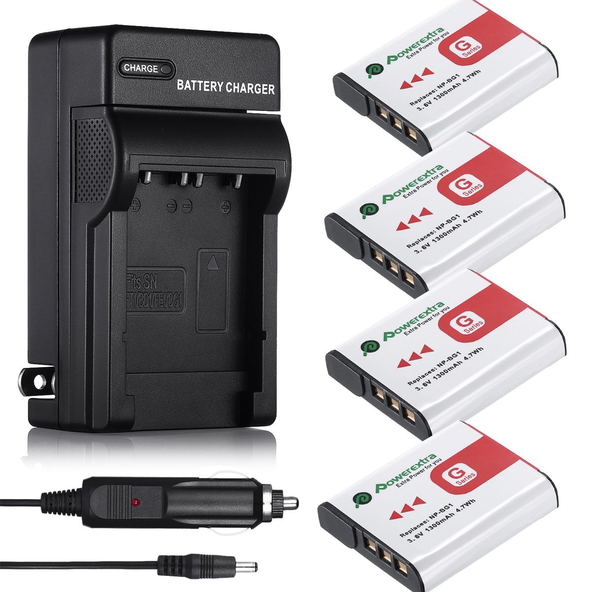 Type G Battery For Sony Cybershot Np Bg1 Fg1 Dsc H20 H9 H3