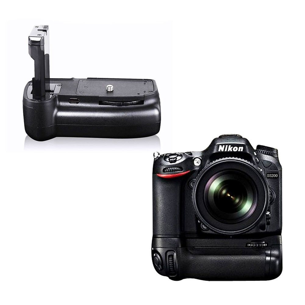 battery grip en el14 holder for nikon d3100 d3200 d3200. Black Bedroom Furniture Sets. Home Design Ideas