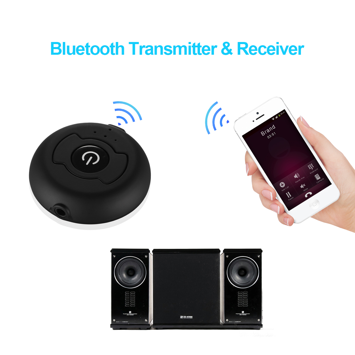 Wireless Bluetooth 4.0 A2DP Audio Stereo Dongle Adapter Transmitter for TV PC | eBay