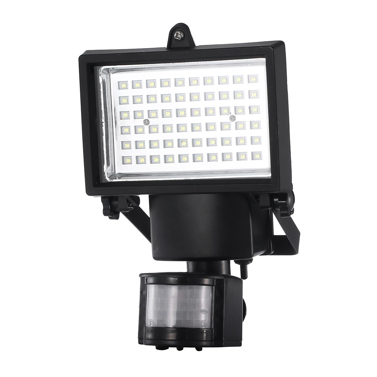 Solar Motion Sensor Security Flood Light Spot Lamp 100 SMD ...