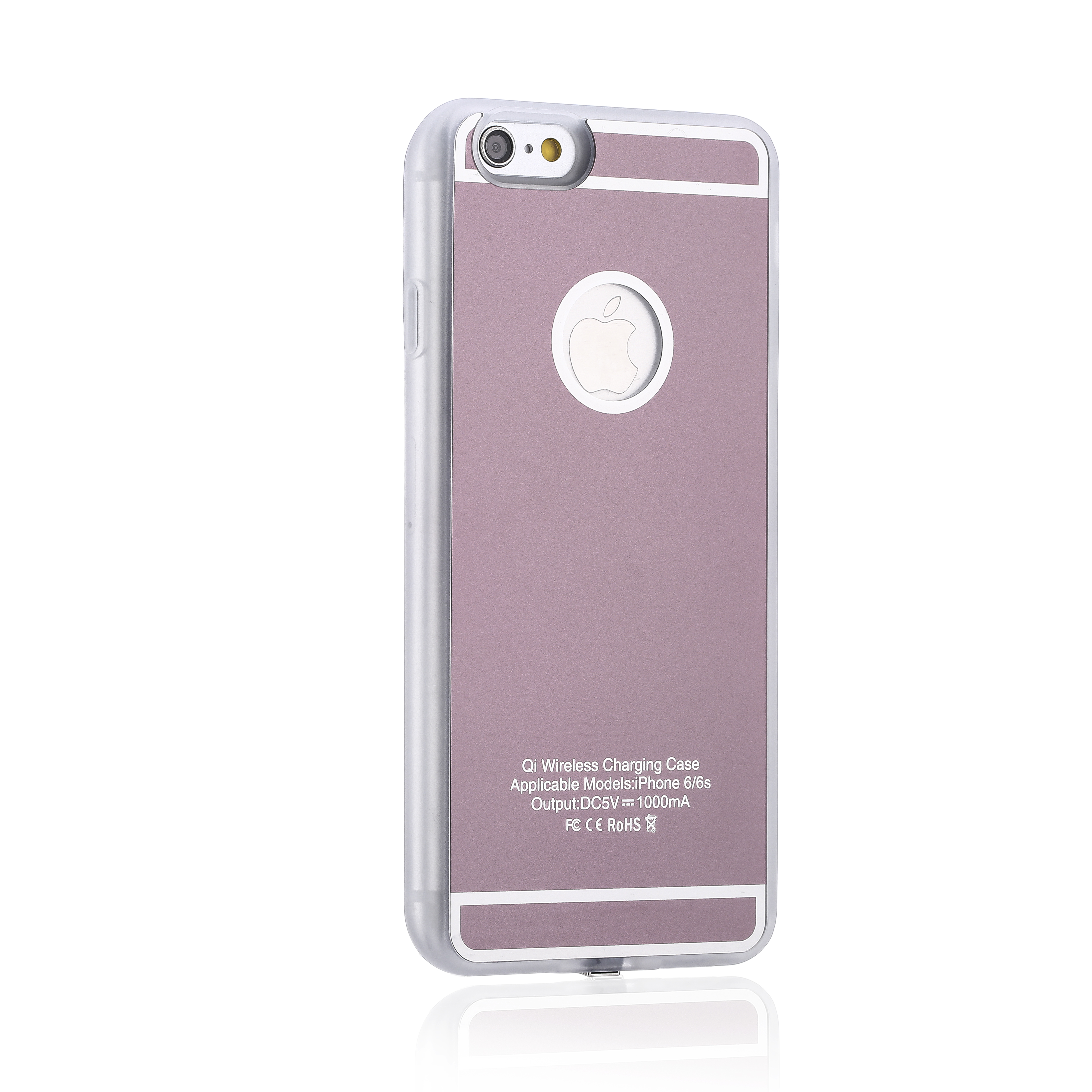 Iphone 6 And Iphone 6s Wireless Charging: QI Wireless Charger Charging Receiver Back Cover Case For