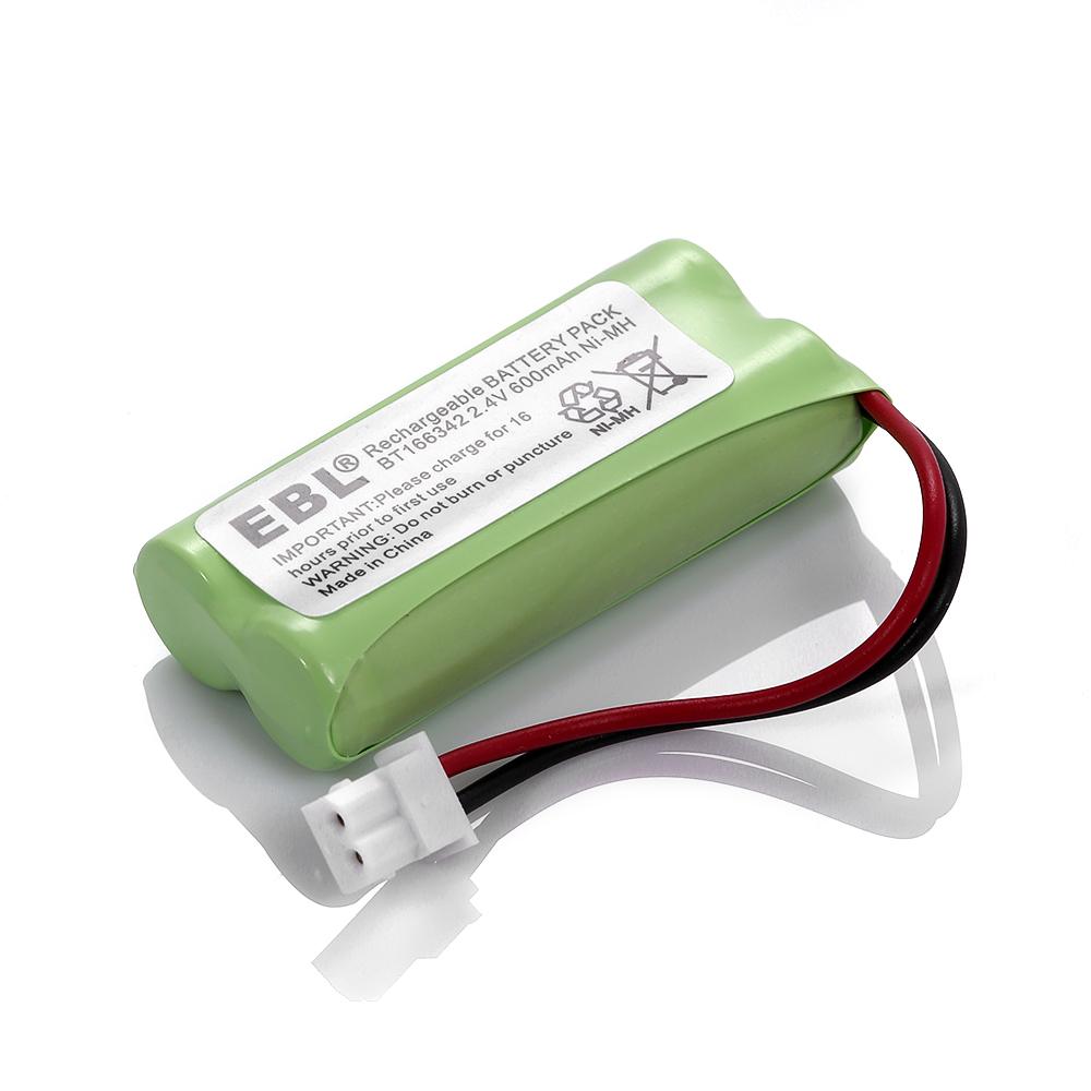 2 cordless home phone battery pack for vtech bt166342 bt266342 bt183342 bt283342 ebay. Black Bedroom Furniture Sets. Home Design Ideas