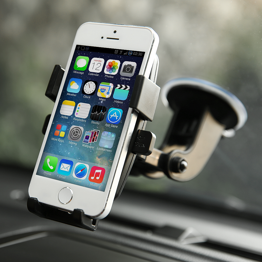 360 176 Car Holder Windshield Mount Bracket For Iphone Samsung